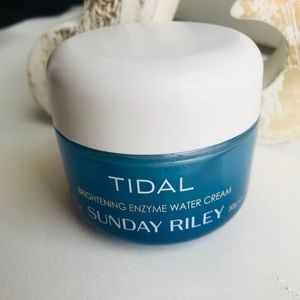 NWT Sunday Riley Tidal Brightening enzyme water cr